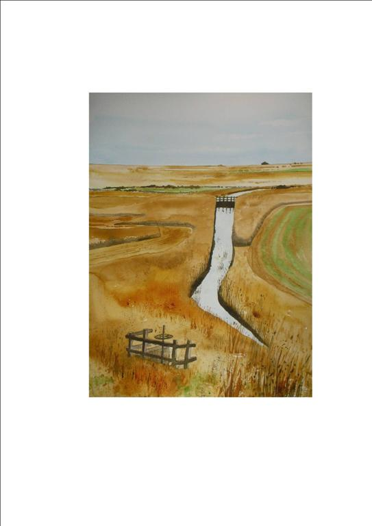 Blakeney Sluice Gate No.2 Norfolk